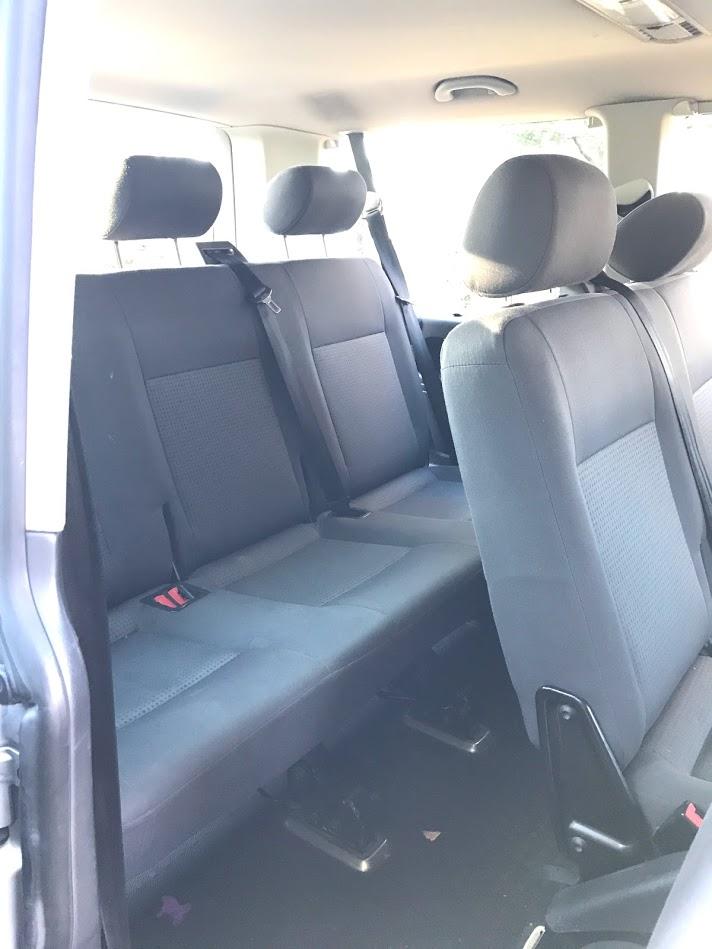 Caravelle 9-seter minibuss – eldre modell