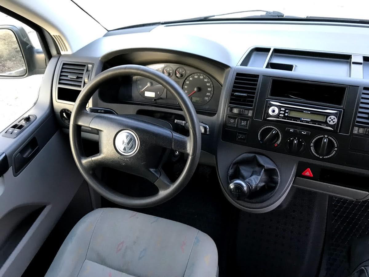 VW Transporter T5 Varebil – eldre modell