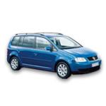 VW Touran blå - bilutleie i Oslo