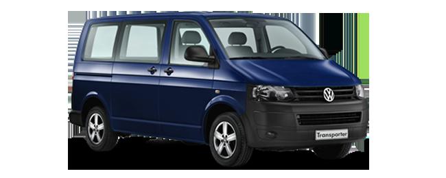 minibuss volkswagen - leiebiler
