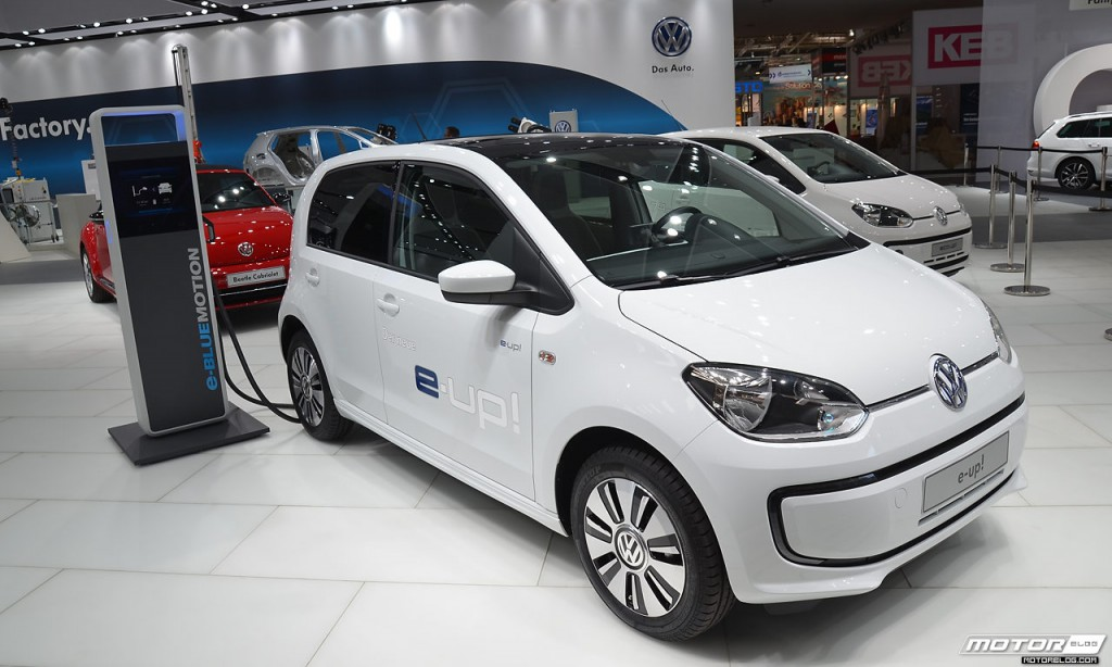 Volkswagen e-up! at Hannover Messe
