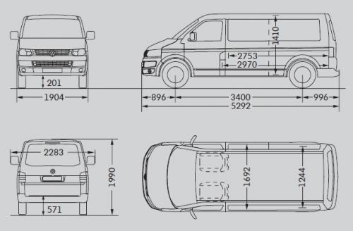 Transporter T5 FL 4×4