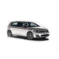 VW Golf MK7 – logo – Sunndal Bilutleie i Oslo