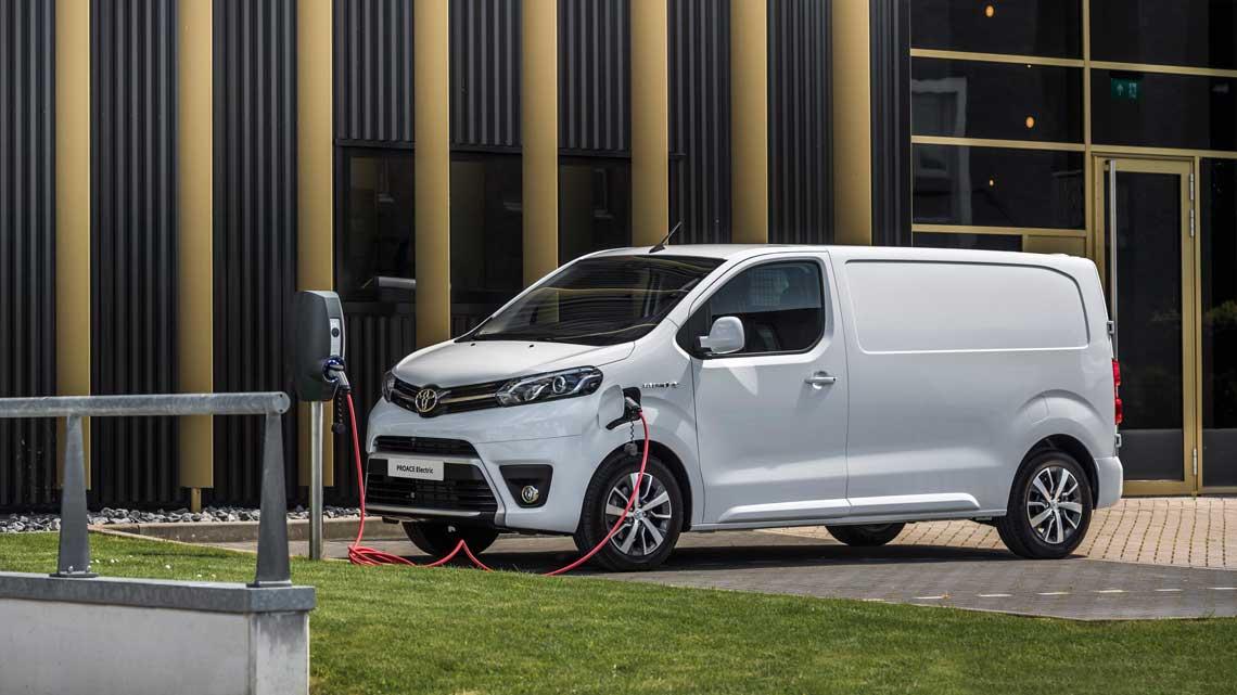 Toyota Proace 6m3  Elektrisk el-varebil Automat