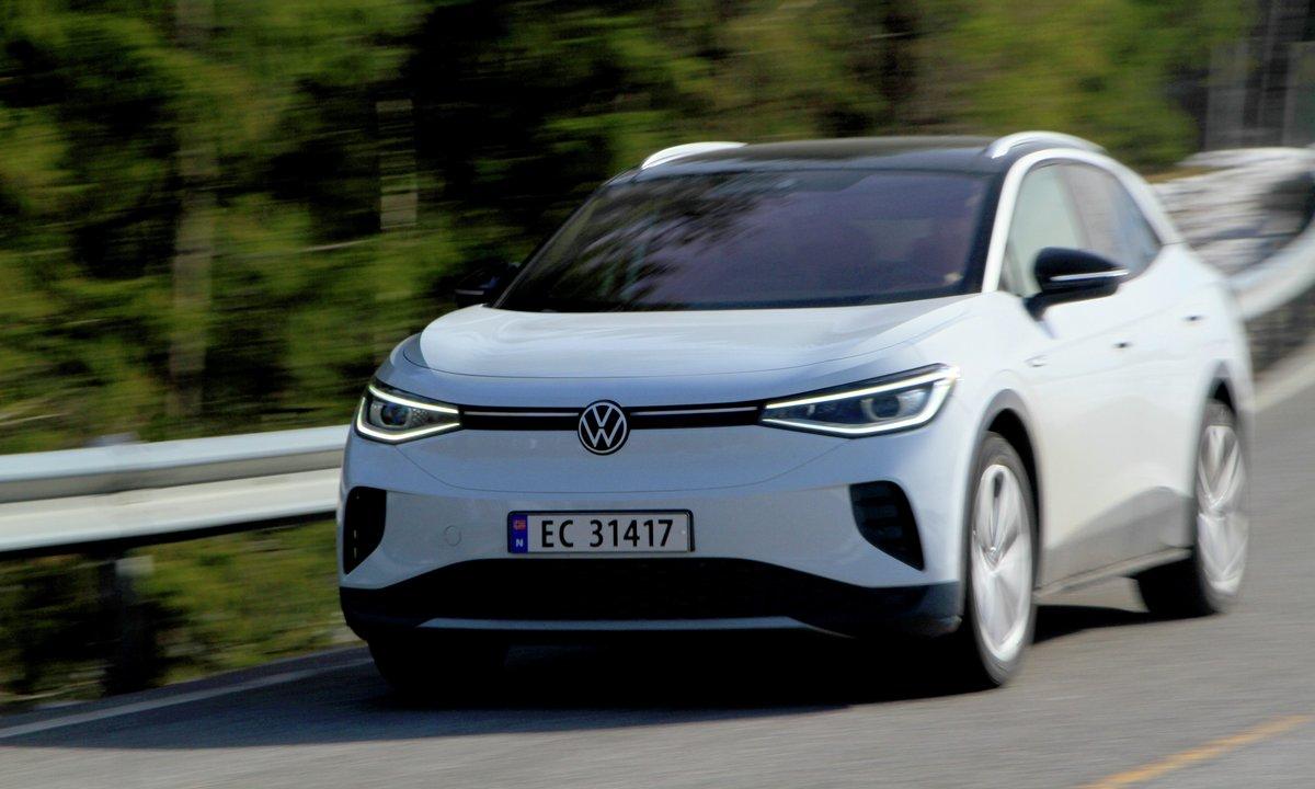 VW ID.4 Fullelektrisk familie-SUV 500km rekkevidde
